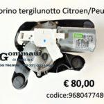 Motorino tergilunotto Citroen - Peugeot