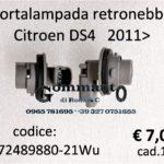 Portalampada retronebbia Citroen Ds4 2011>