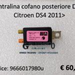 Centralina cofano posteriore DAB Citroen DS4 2011>