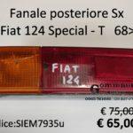 Fanale posteriore Sx Fiat 124 Special - T  68>