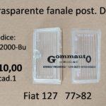 Trasparente fanale posteriore DxFiat 127 77>82