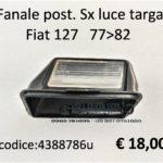 Fanale  posteriore Sx luce targa Fiat 127 II serie 77>82