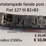 Portalampade fanale posteriore Sx Fiat 127  82>83