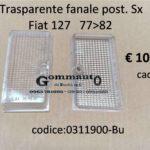 Trasparente fanale posteriore Sx Fiat 127 II serie