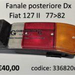 Fanale posteriore Dx Fiat 127 IIª 77>82