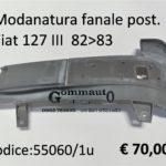 Modanatura fanale posteriore Dx Fiat 127  82>83