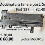 Modanatura fanale posteriore Sx Fiat 127 IIIª serie 1982>1983
