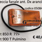 Freccia fanale ant. arancio Dx Fiat 850 R 77> Fiat 900 T Pulmino