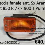 Freccia fanale anteriore arancio Sx Fiat 850 R 77> Fiat 900 T Pulmino
