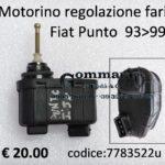 Motorino regolazione fari Fiat Punto 93>99