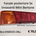 Fanale posteriore Sx Innocenti Mini Bertone
