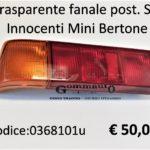 Trasparente fanale posteriore Sx Innocenti Mini Bertone