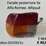 Fanale posteriore Sx Alfa Romeo Alfasud