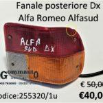 Fanale posteriore Dx Alfa Romeo Alfasud