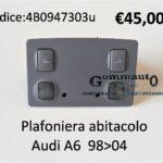 Plafoniera abitacolo Audi A6 98>04