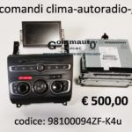 Kit comandi clima-autoradio-gps-lettore cd Citroen DS4 11>