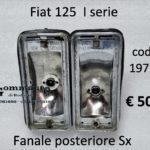 Fanale posteriore Sx Fiat 125 68>