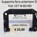 Supporto faro anteriore Dx Fiat 127  82>83