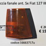 Freccia fanale anteriore Sx Fiat 127  III serie 82>83