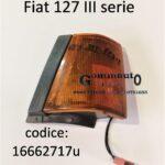 Freccia fanale anteriore Dx Fiat 127 III serie 82>83