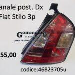 Fanale posteriore Dx Fiat Stilo 3 porte