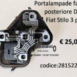 Portalampade fanale posteriore Dx Fiat Stilo 3p