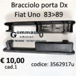 Bracciolo porta Dx Fiat Uno 83>89