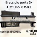Bracciolo porta Sx Fiat Uno 83>89