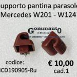 Supporto pantina parasole Mercedes W201- W121