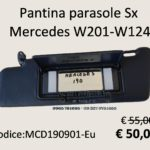 Pantina parasole Sx Mercedes W 201 - W 124