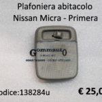 Plafoniera abitacolo Nissan Micra - Primera