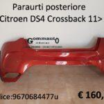 Paraurti posteriore Citroen DS4 Crossback 11>18