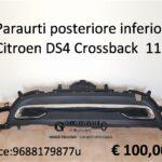 Paraurti posteriore inferiore Citroen DS4 Crossback 11>18