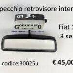 Specchio retrovisore interno  Fiat 127 3 serie 82>83