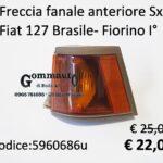 Freccia fanale anteriore Sx Fiat 127 Brasile - Fiorino Iª