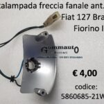 Portalampada freccia fanale anteriore Dx Fiat 127 Brasile - Fiorino I°