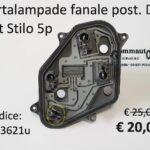 Portalampade fanale posteriore Dx Fiat Stilo 5p