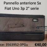 Pannello porta anteriore Sx Fiat Uno 3 porte IIª serie