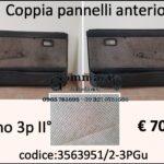 Coppia pannelli porta anteriore dx/sx Fiat Uno 3 porte IIª