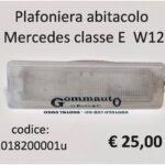Plafoniera abitacolo Mercedes classe E W124  85>95