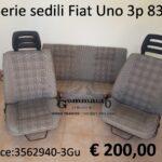 Serie sedili Fiat Uno 3p 83>