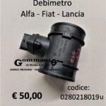 Debimetro misuratore massa d'aria Alfa Romeo Fiat Lancia