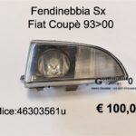 Fendinebbia Sx Fiat Coupè 93>00