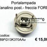 Portalampada fanalino posteriore / freccia FORD