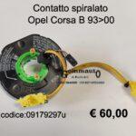 Contatto spiralato Opel Corsa B 93>00