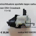 Motorino sportello tappo carburante Citroen DS4 Crossback