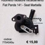 Rubinetto radiatore riscaldamento Fiat Panda 141/Seat Marbella