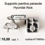 Supporto pantina parasole Hyundai Atos
