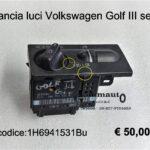 Plancia luci Volkswagen Golf III