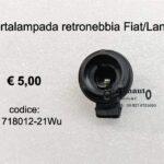 Portalampada retronebbia Fiat/Lancia